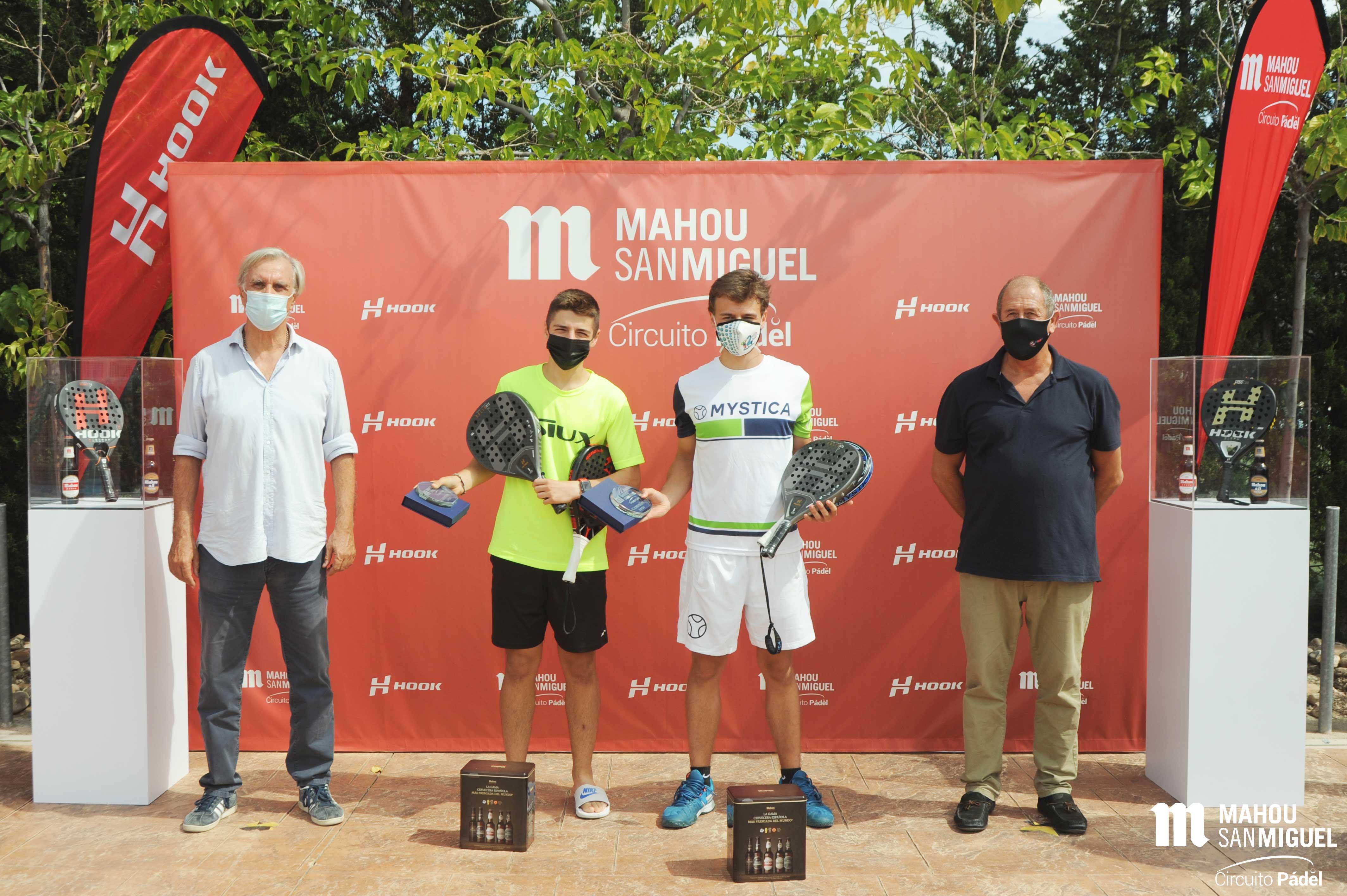 Sacristán y Nieto, campeones de segunda masculina.